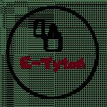 Logo sklepu tytoniowego e-tytoń papierosowy