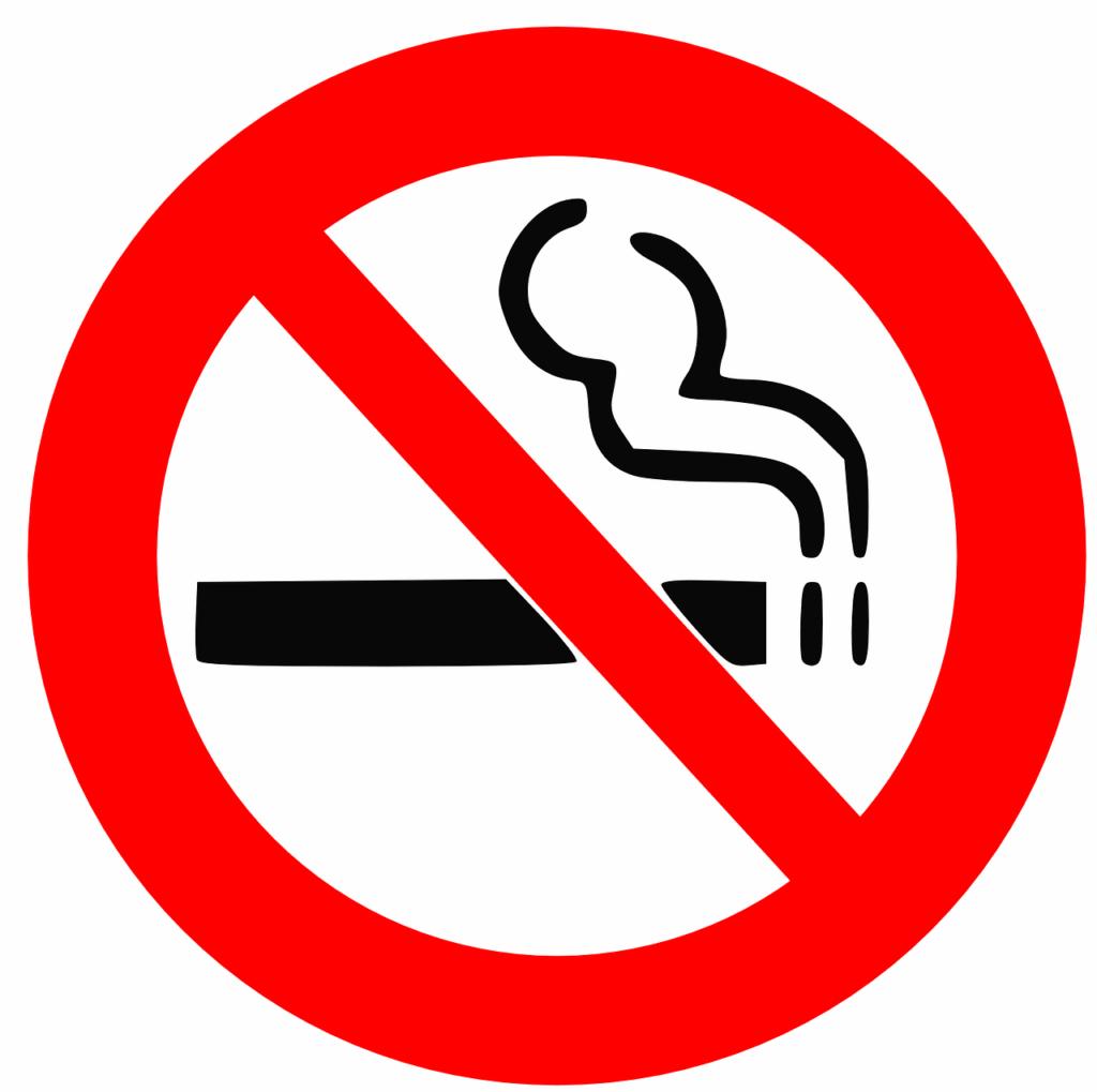 gdzie nie wolno palić w świetle ustawy