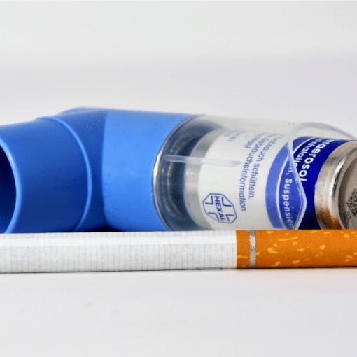 wpływ nikotyny na astmę