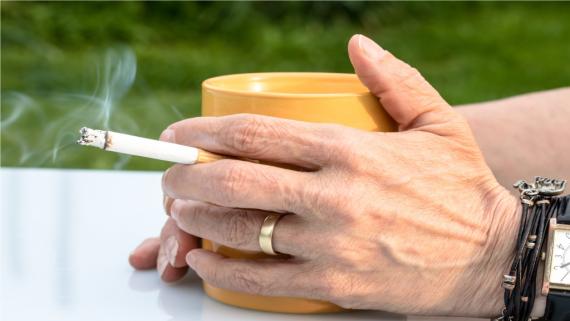 wykorzystanie przerwy na papierosa