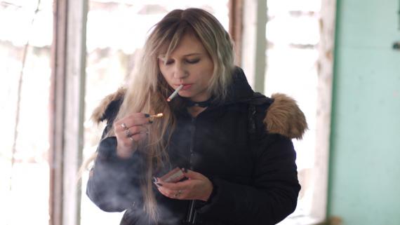 popalanie papierosów