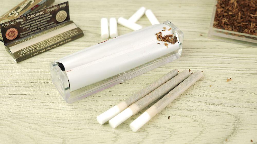 Skręcone papierosy ze zwijarką, jak skręcić papierosa