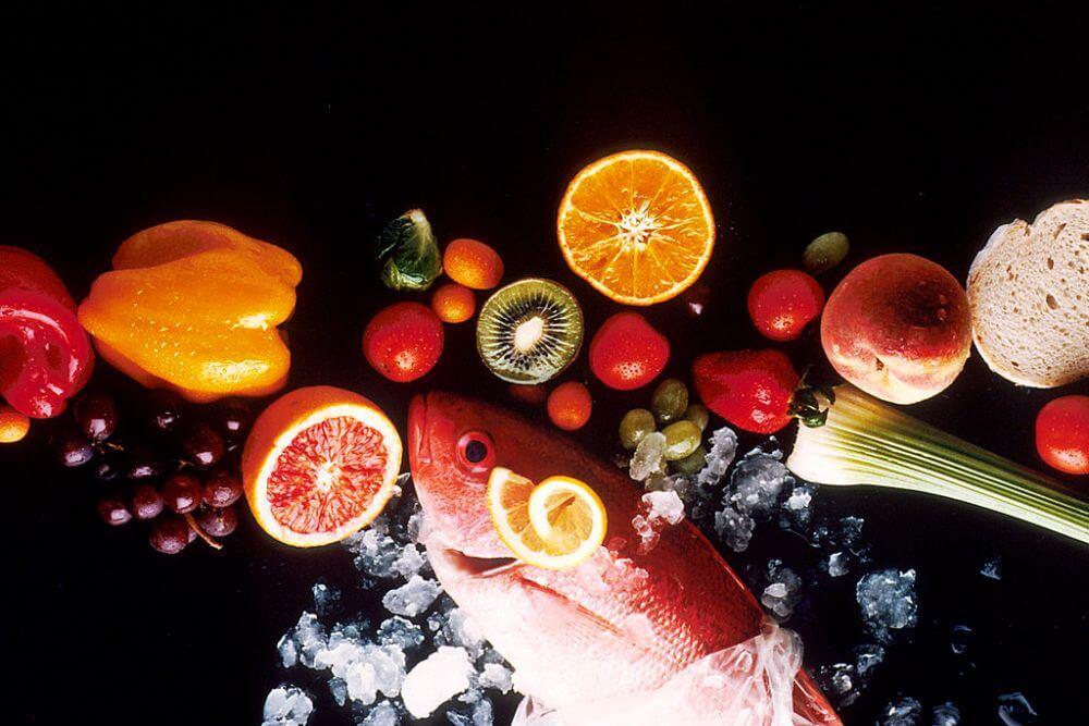 Zdrowe jedzenie w diecie zmniejszającej szkodliwość alkoholu i tytoniu
