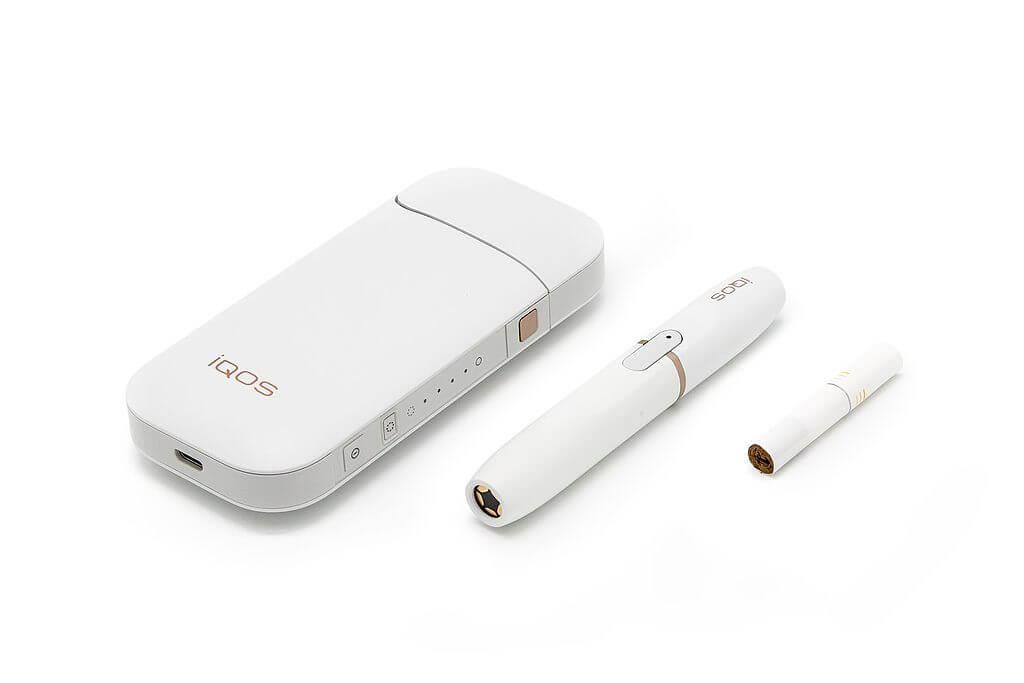 Iqos zestaw biały, tańsze palenie papierosów